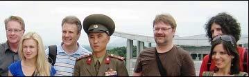 Korea Pó·nocna grupa wycieczki