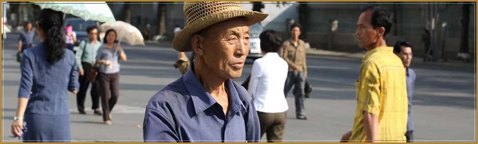 gente en corea del norte