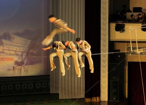 Pyongyang circus