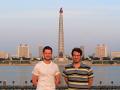 Juche-tårnet, Pyongyang, Nord-Korea