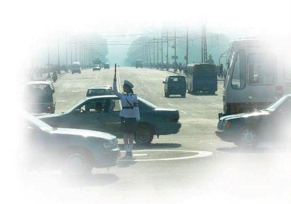 rue a Pyongyang