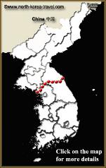 North Korea interactive map