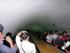 tunel metro corea del norte
