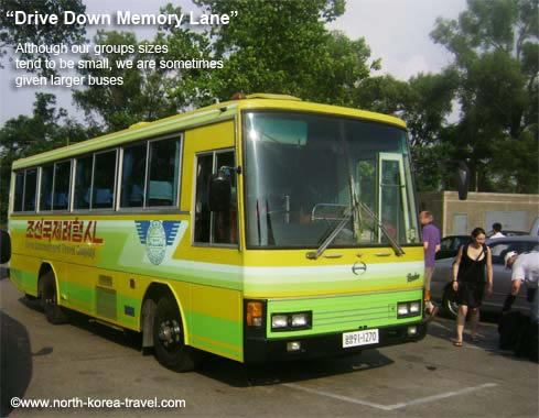 North Korean bus