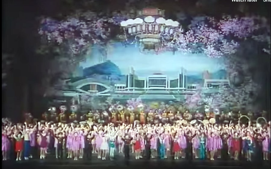 Children's palace in the North Korean film the Country I Saw Part One