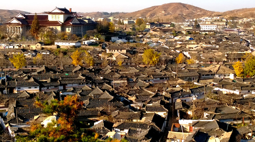 Old town of Kaesong in North Korea (DPRK)