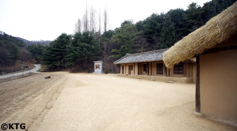 Paeksong revolutionary site near Pyongsong city, DPRK (North Korea). Kim Il Sung University was relocated here during the Korean War. Picture taken by KTG Tours.
