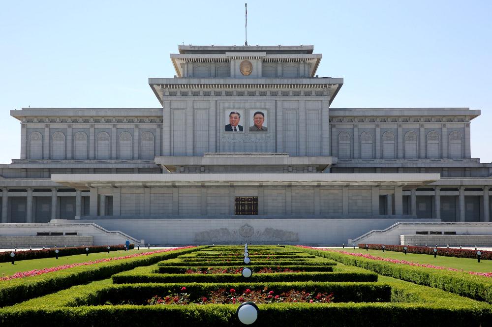 Kumsusan Memorial Palace of the Sun