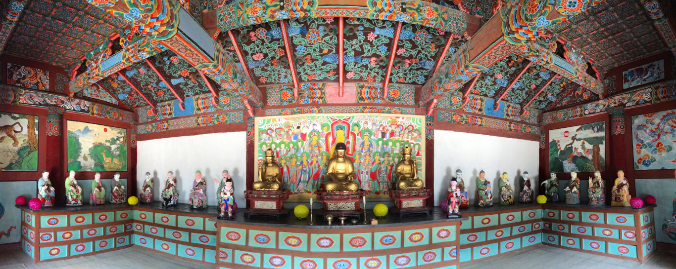 Pohyon Buddhist Temple, Mount Myohyang