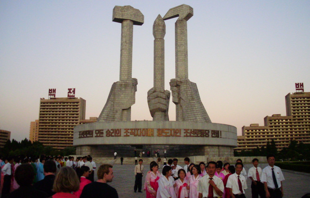 Party Foundation Monuments, North Korea