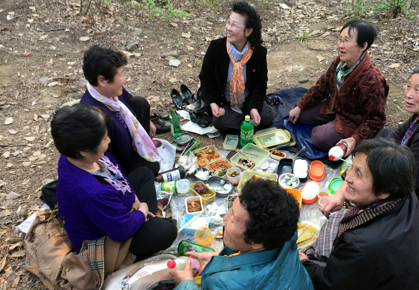 Picnic in North Korea (DPRK)