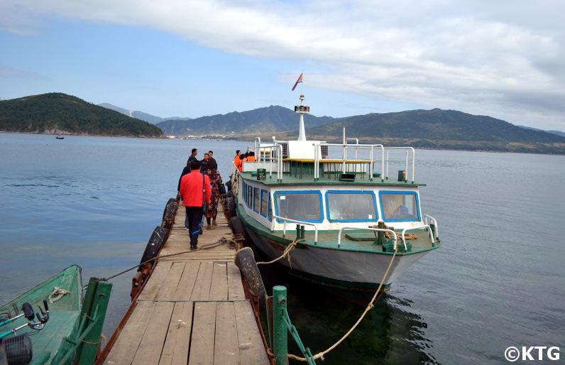 Islote Pipha en Rason, Corea del Norte