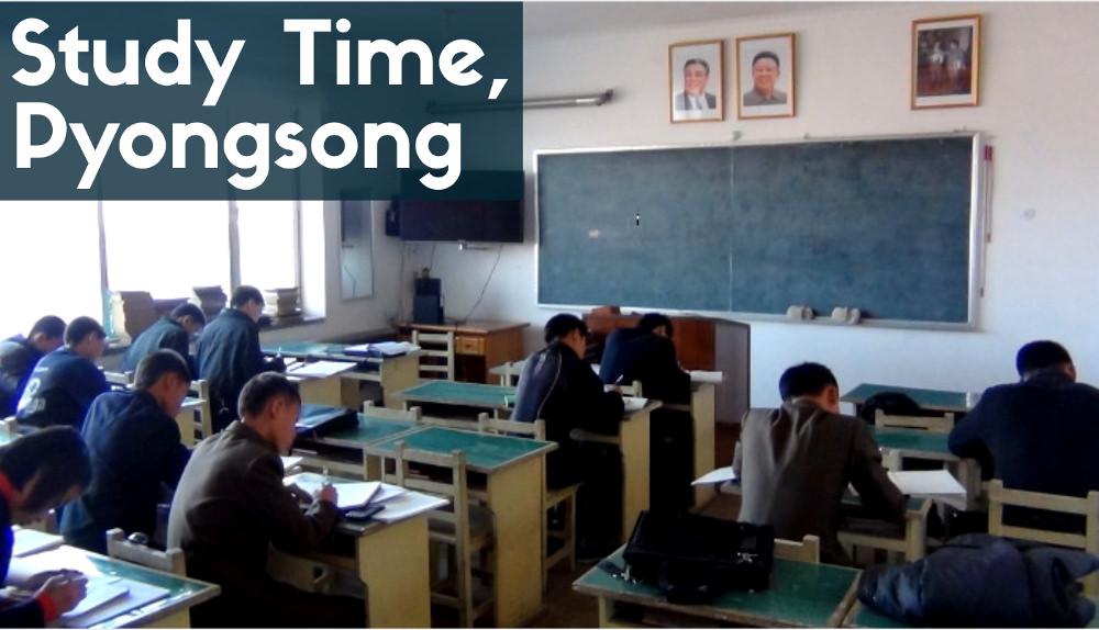 Middle School i Pyongsong, Nordkorea