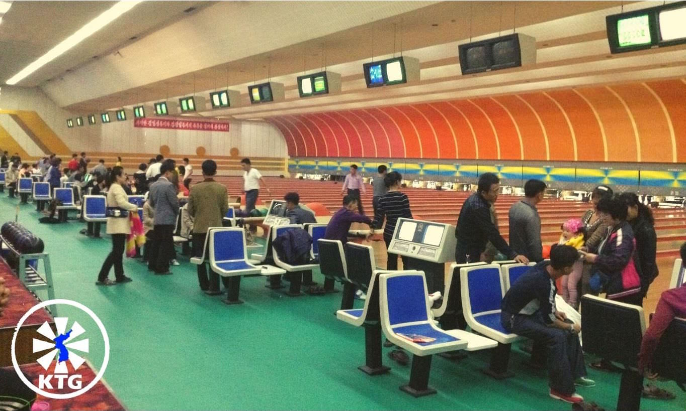 Pyongyang Golden Lane Bowling Alley, North Korea, DPRK. Explore North Korea with KTG Tours