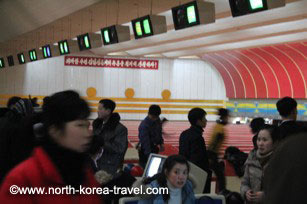 Pyongyang Golden Lane Bowling alley