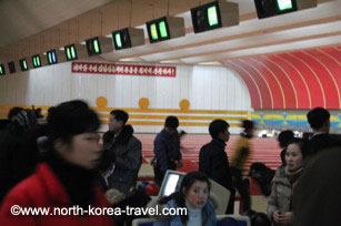 Pyongyang Golden Lane Bowling alley
