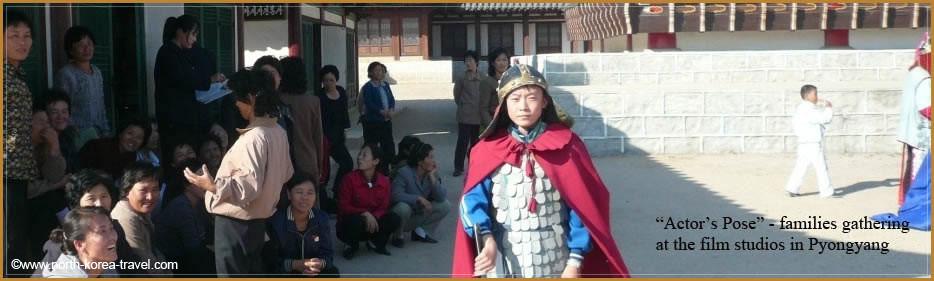 Észak-koreai családok a koreai Filmstúdió