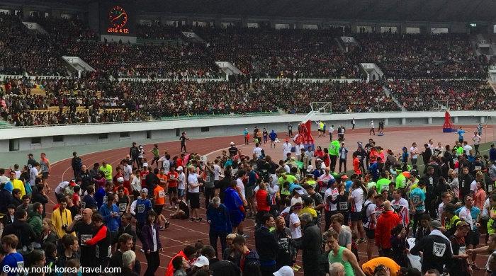 Pyongyang Marathon in 2015
