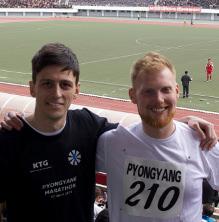 Pyongyang marathon, North Korea