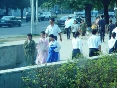 enrtrada metro pyongyang