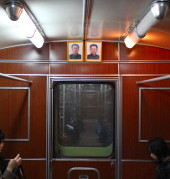 travelling to North Korea, Pyongyang Metro ride