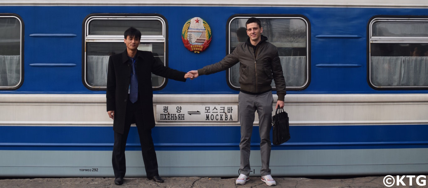 tren desde Corea del Norte a Rusia