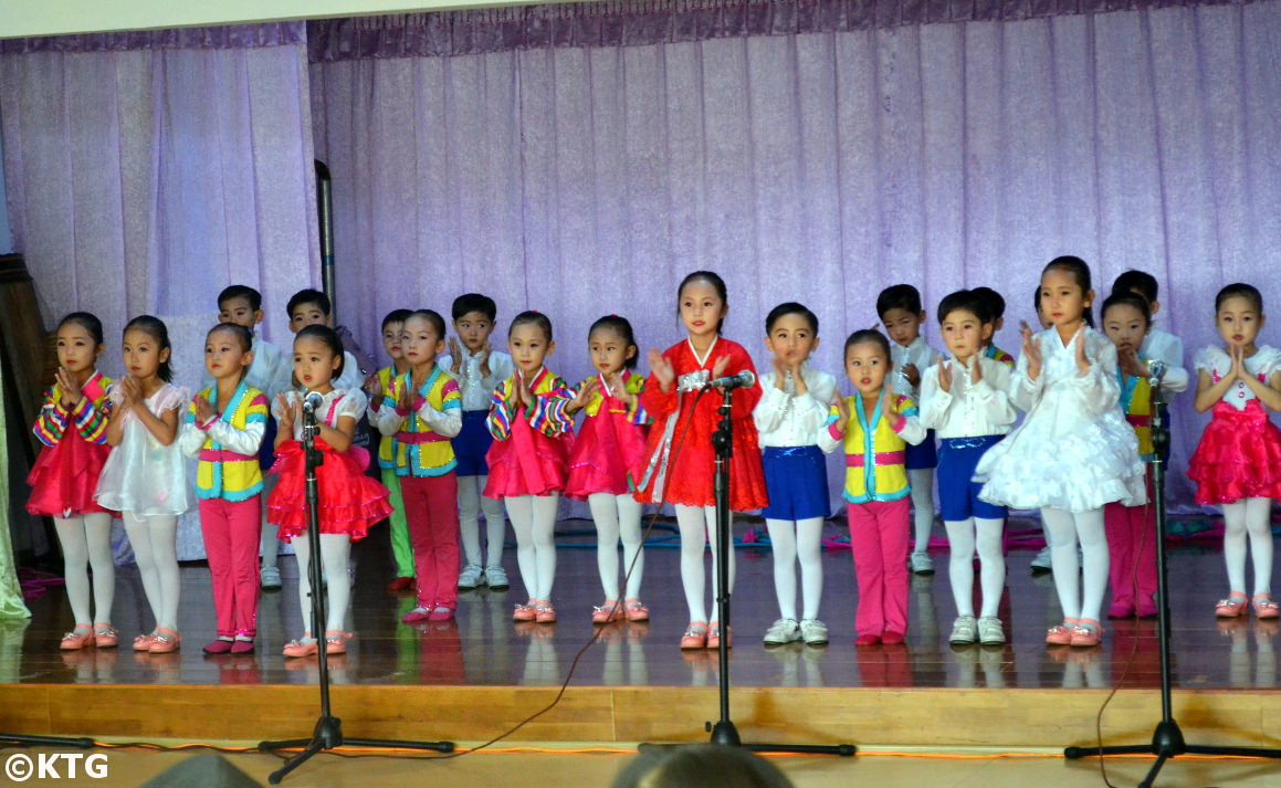 Kindergarten in Rajin, Rason, DPRK (North Korea) with KTG Tours