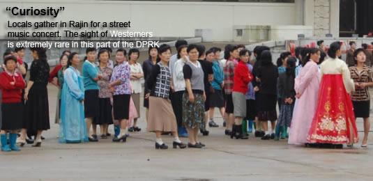 Rajin, North Korea, Rason market