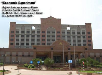 Emperor Hotel and Casino, Rason