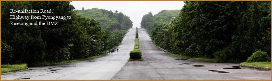 sjednocení silnice Severní Korea