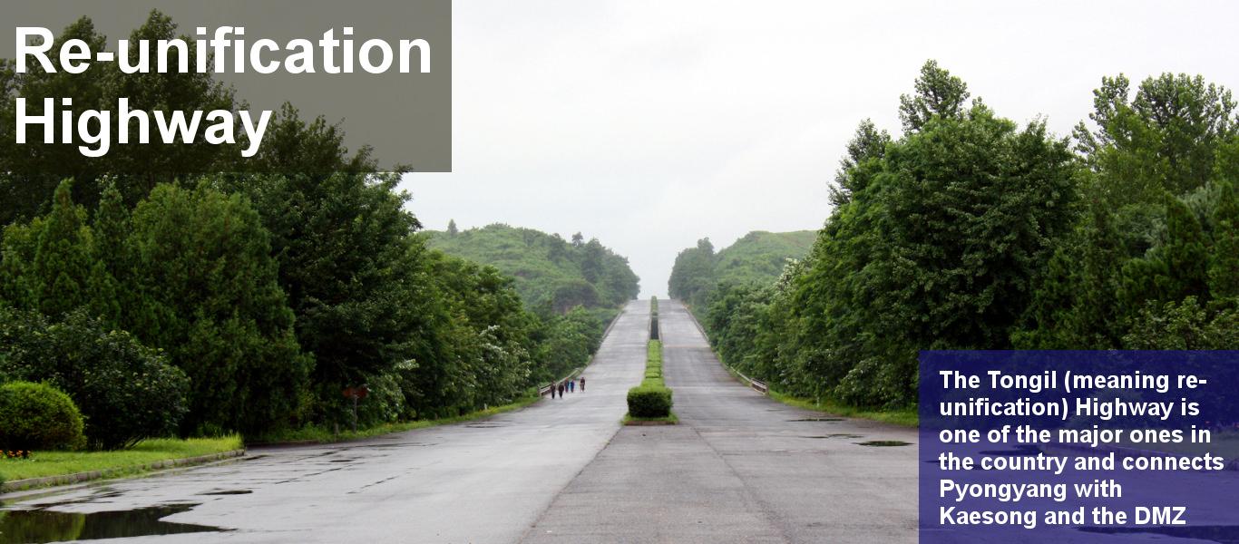 Strada riunificazione, la Corea del Nord