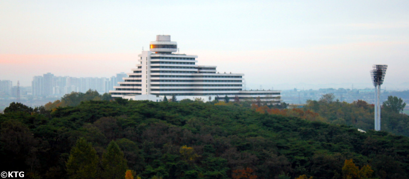 The Ryanggang Hotel is a first class hotel in Pyongyang located in the sports village of the capital of North Korea