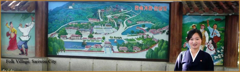 Sariwon Folk Village, North Korea