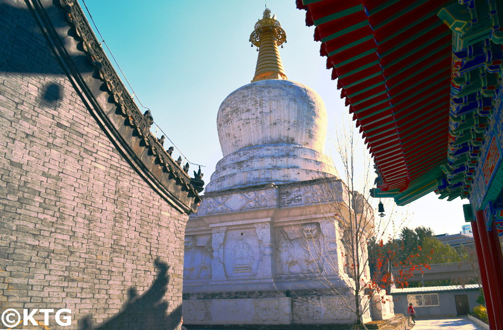 West Pagoda (Xi Ta) in Shenyang, China