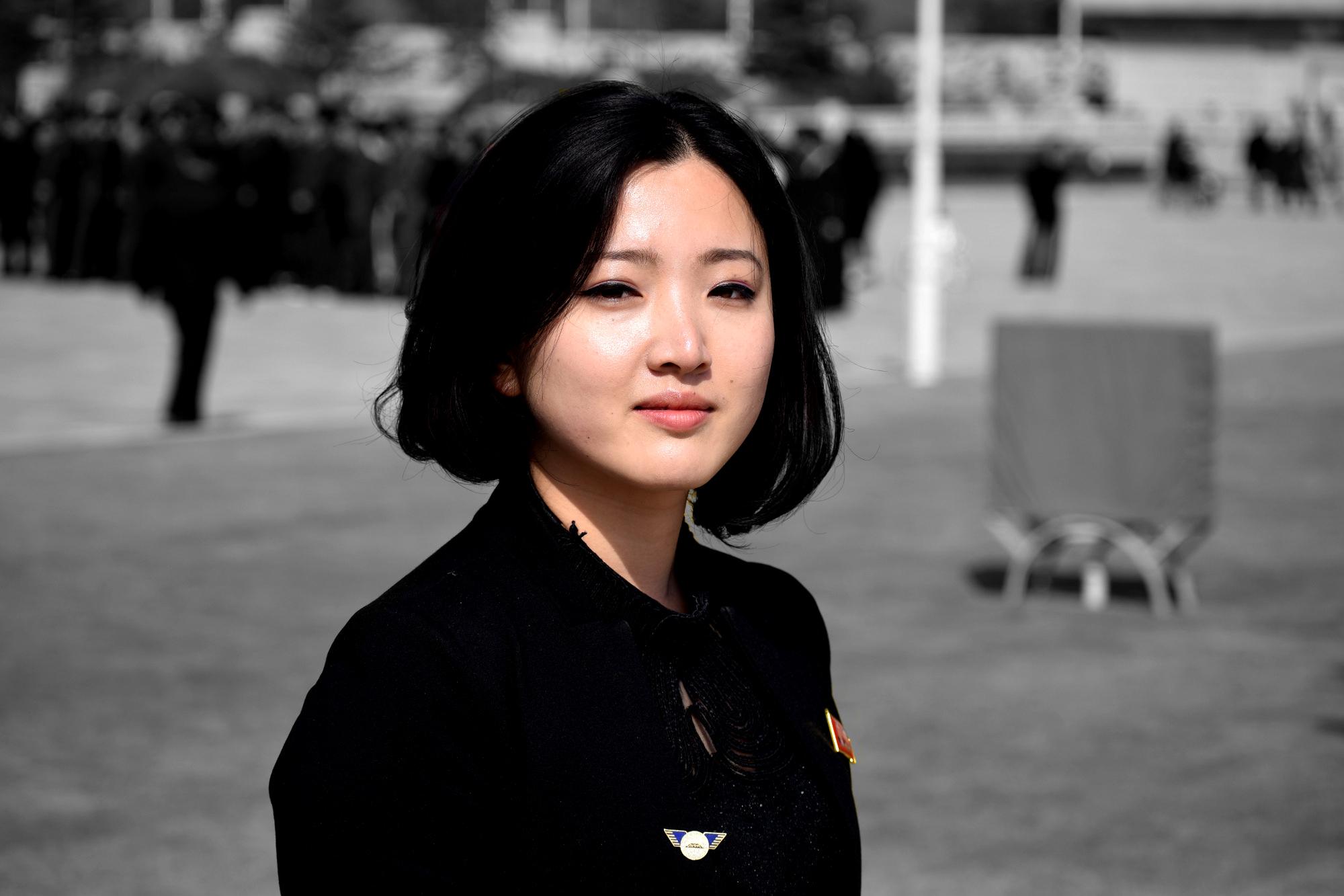 ong Hyang, una guía de Corea del Norte hispanohablante. KTG trabaja con los mejores guías de Corea del Norte