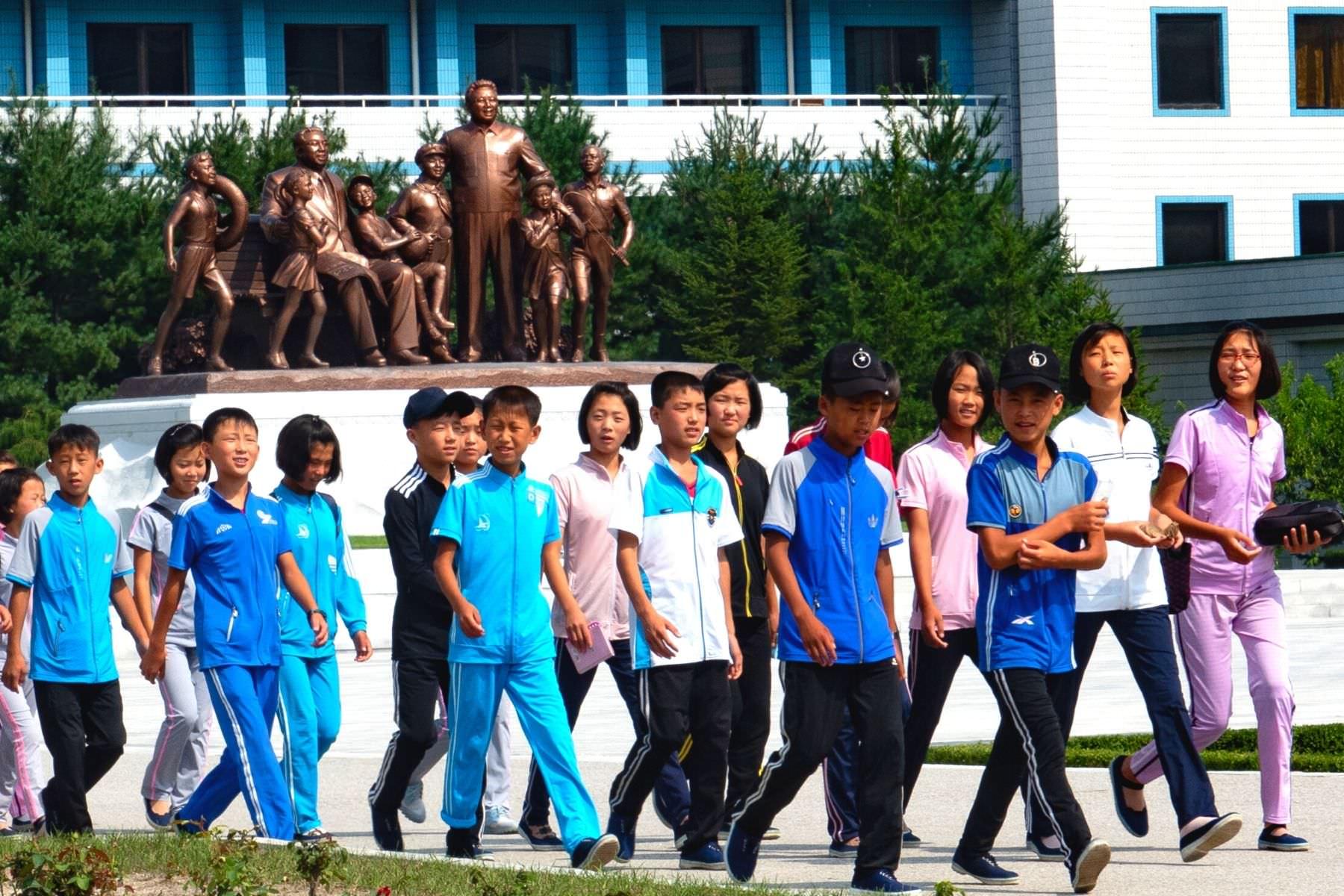 Songdowon Children's Camp in Wonsan, North Korea (DPRK) with KTG Tours