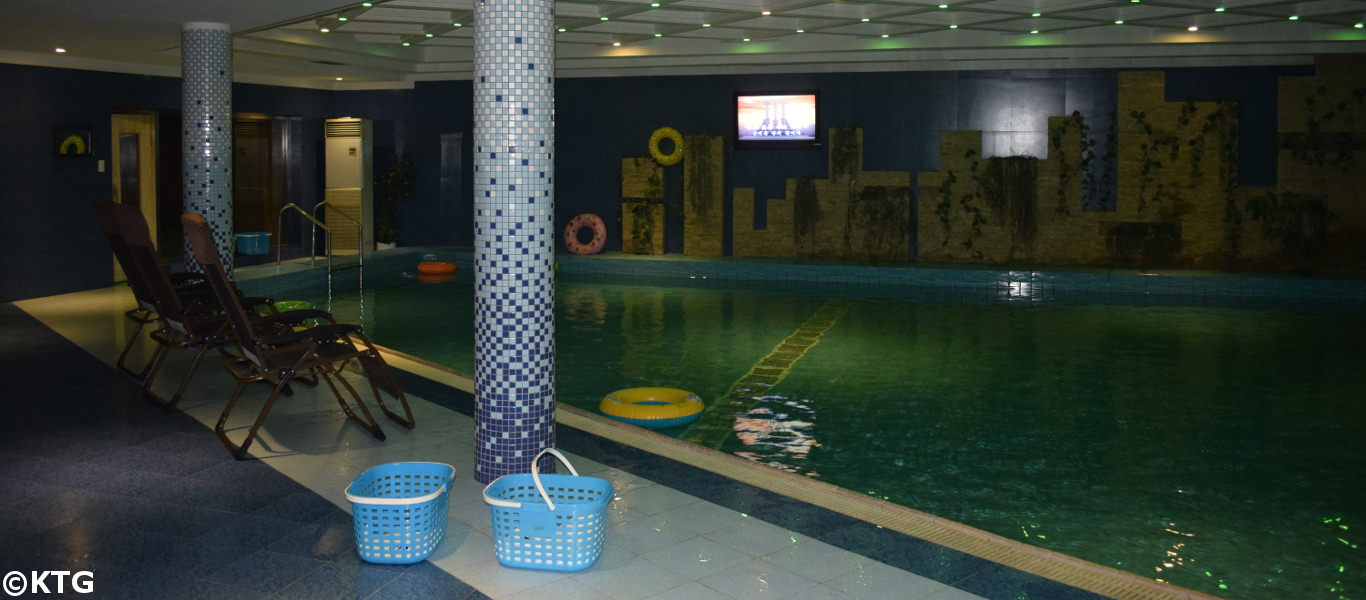 Sosan Hotel Swimming Pool - budget hotel in Pyongyang, North Korea (DPRK)