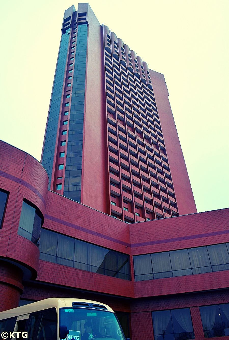 Sosan Hotel in Pyongyang capital of North Korea