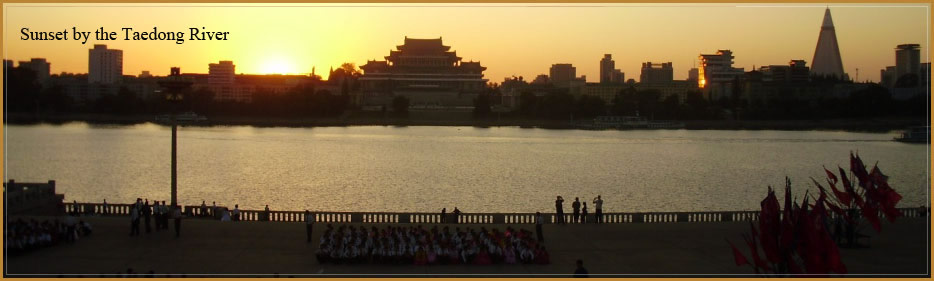 Taedong řeka, Pchjongjang