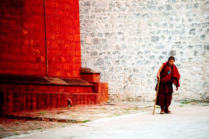 Tashilhunpo Monastery Tibet China