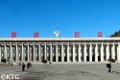 Musée d'histoire à Pyongsong en Corée du Nord
