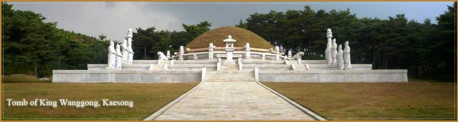 Kaesong ciudad en Corea del Norte cerca de Corea del Sur
