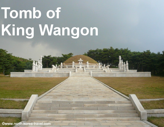 Tomb of King Wangon in Kaesong, North Korea (DRPK)