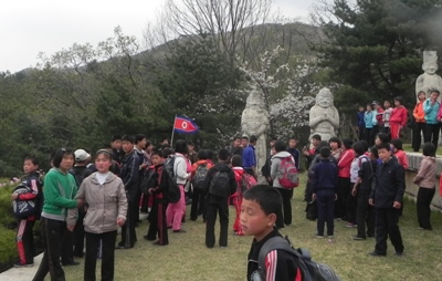 Koryo tombs, Kaesong, North Korea