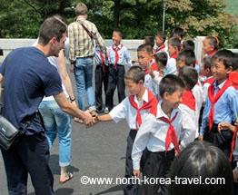 Észak-koreai gyerekek
