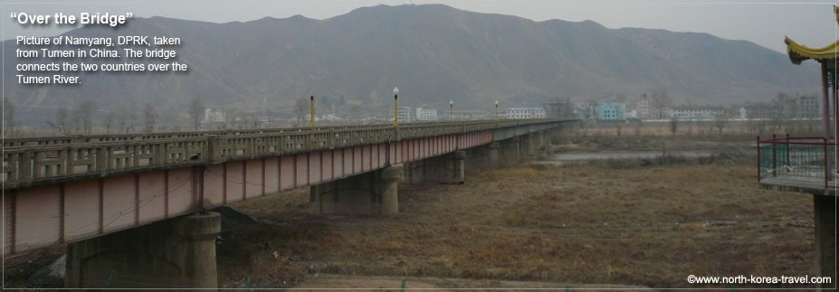 Tumen Namyang Bridge, DPRK and China
