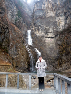 Ullim Waterfalls near Wonsan in North Korea (DPRK)