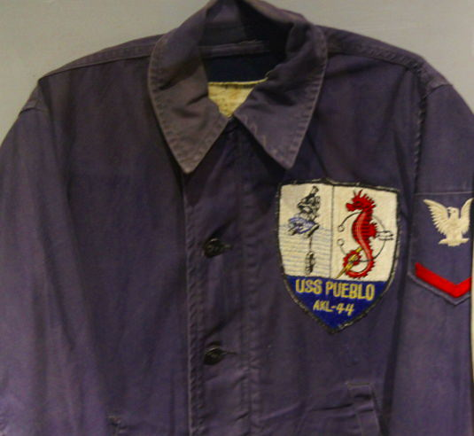 Clothes worn by some of the USS Pueblo Crew members before being captured