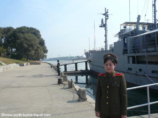 USS Pueblo guide, North Korea. KTG Tours