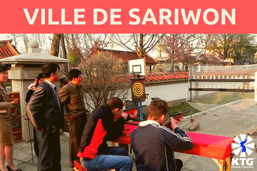 Ville de Sariwon en Corée du Nord (RPDC)